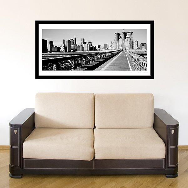 Vinilos Decorativos: Puente de Brooklyn