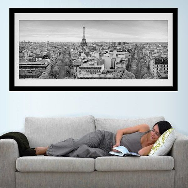 Vinilos Decorativos: Skyline de París