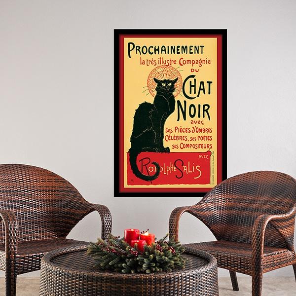 Vinilos Decorativos: Chat Noir
