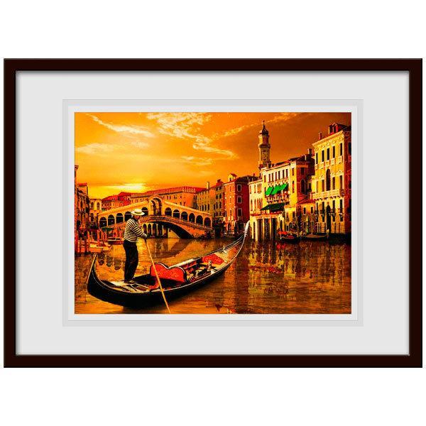 Vinilos Decorativos: Gondola en Venecia