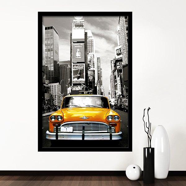 Vinilos Decorativos: Taxi NYC