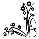 Vinilos Decorativos: Floral Noltea