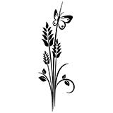 Vinilos Decorativos: Floral 70