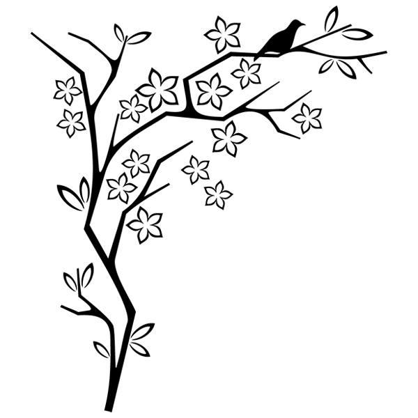 Vinilos Decorativos: Floral 80