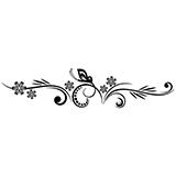 Vinilos Decorativos: Floral 84