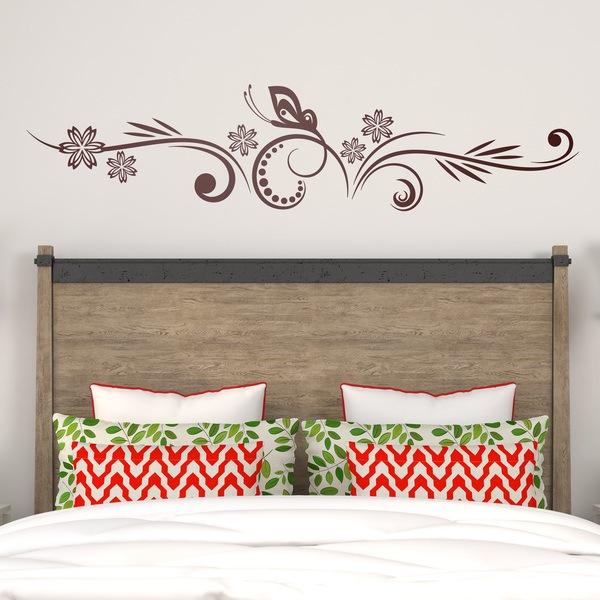 Vinilos para cabeceros o cabezal de cama for Stickers para pared de dormitorio