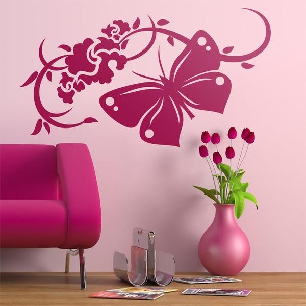 Vinilos Decorativos: Floral Oxalis