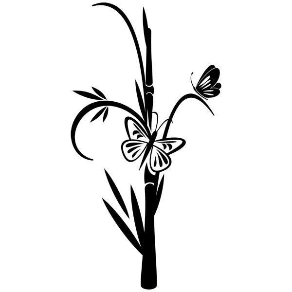 Vinilos de mariposas for Vinilos mariposas