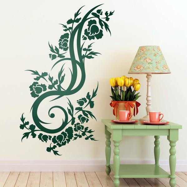Vinilos Decorativos: Floral 139