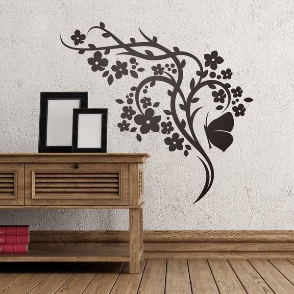 Vinilos Decorativos: Floral 146
