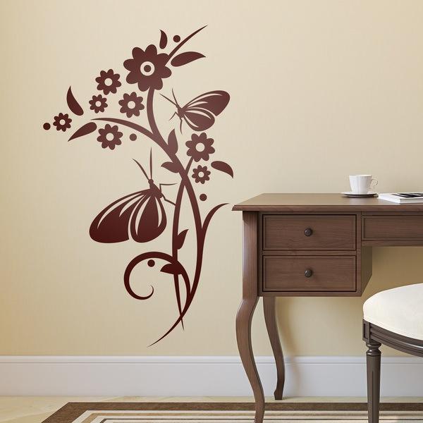 Vinilos Decorativos: Floral Greta