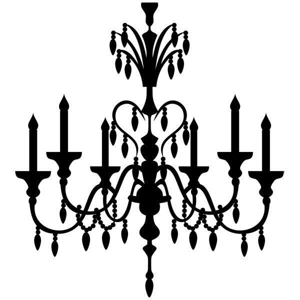 Vinilos Decorativos: lampara vintage