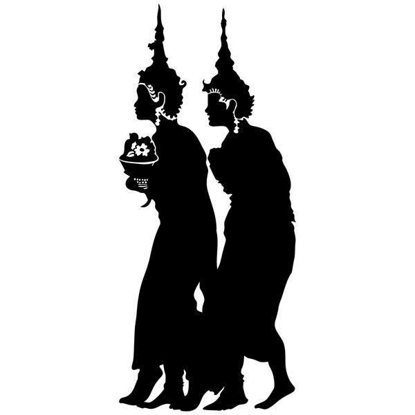 Vinilos Decorativos: Budistas