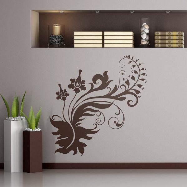 Vinilos Decorativos: floral 267