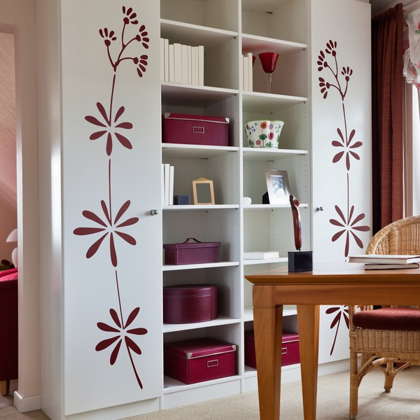 Vinilos Decorativos: Floral 348