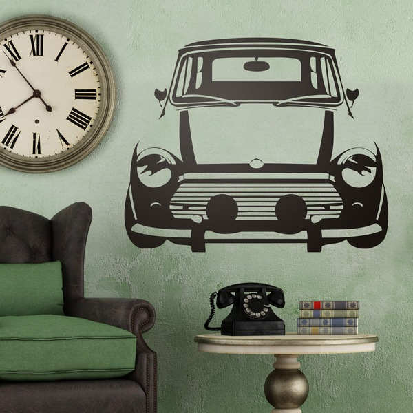 Vinilos Decorativos: Automóvil Mini Cooper