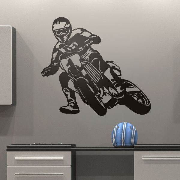 Vinilos Decorativos: Moto Cross