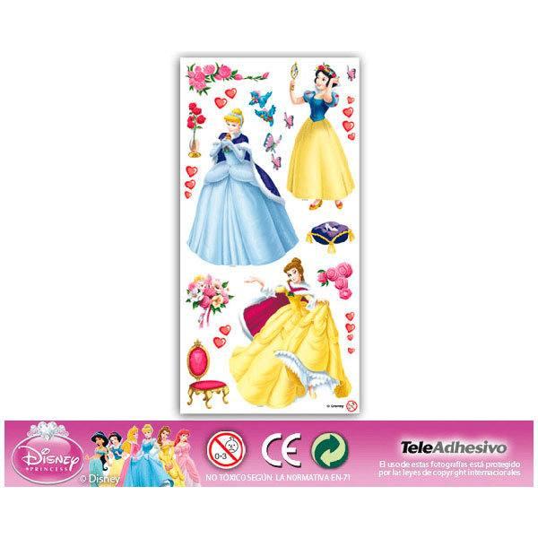 Vinilos Infantiles: Vinilo Kit de adhesivos de Princesas