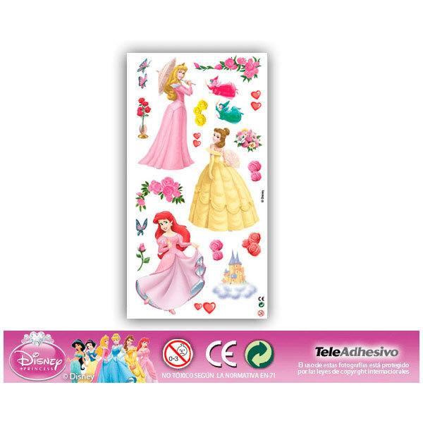 Vinilos Infantiles: Kit de adhesivos Princesas 2