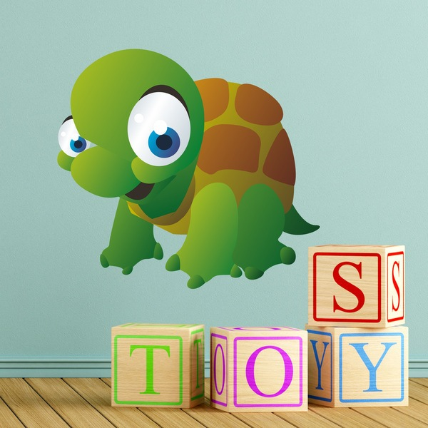 Vinilos Infantiles: Tortuga