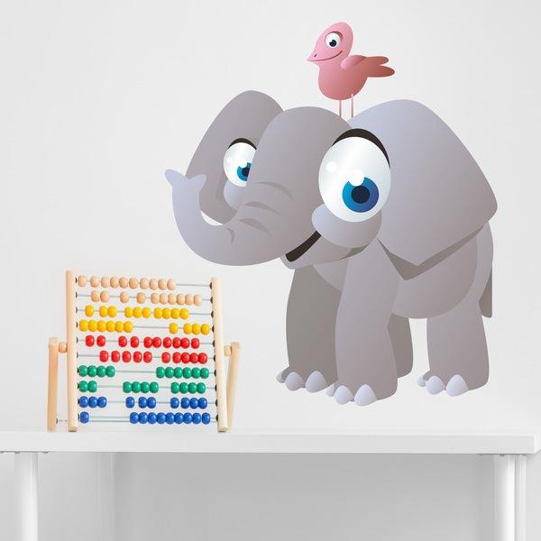 Vinilos Infantiles: Elefante