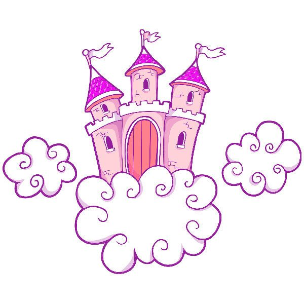 Vinilos Infantiles: Castillo 1