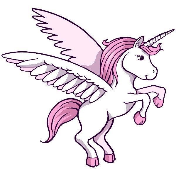 Vinilos Infantiles: Unicornio 1