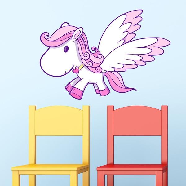 Vinilos Infantiles: Unicornio 3