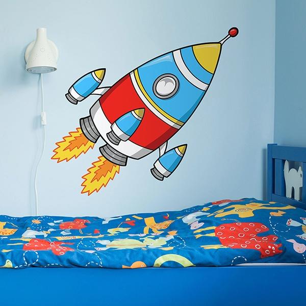 Vinilos Infantiles: Cohete 3