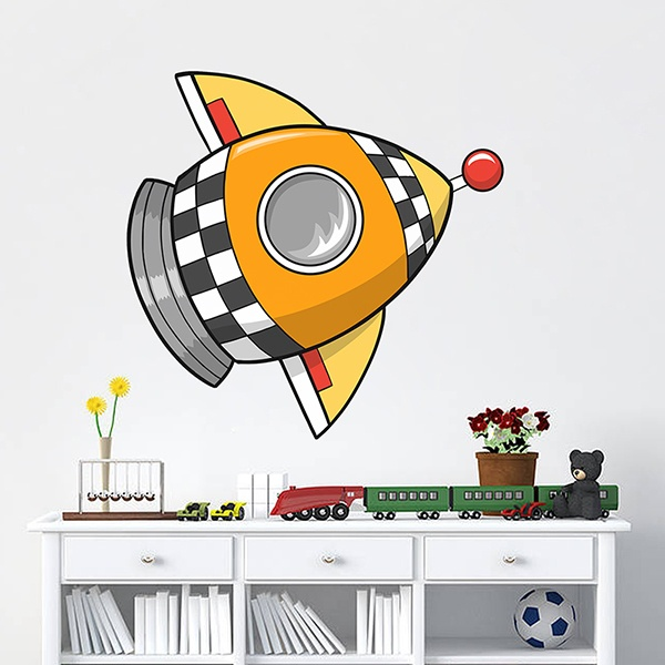 Vinilos Infantiles: Cohete 4