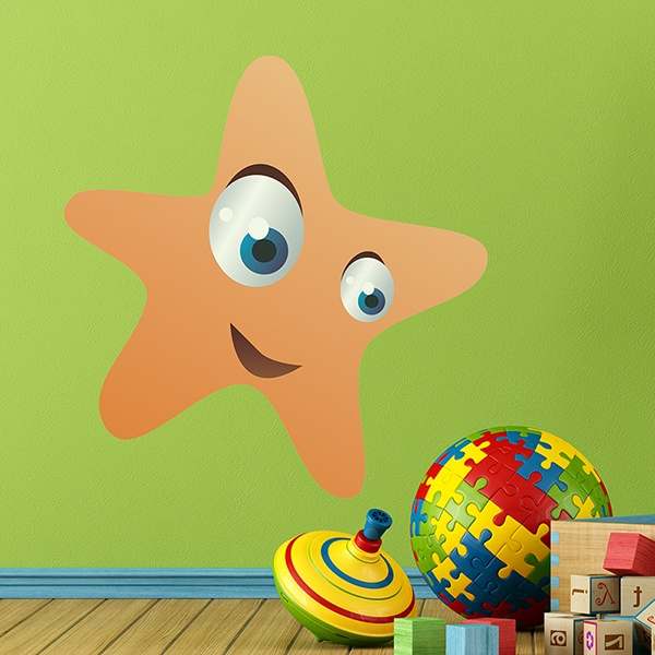 Vinilos Infantiles: Estrella de mar