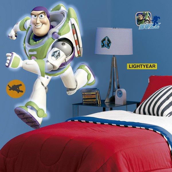 Vinilos Infantiles: Gran vinilo de Buzz Lightyear