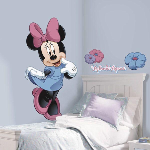 Vinilos Infantiles: Gran vinilo infantil de Minnie Mouse