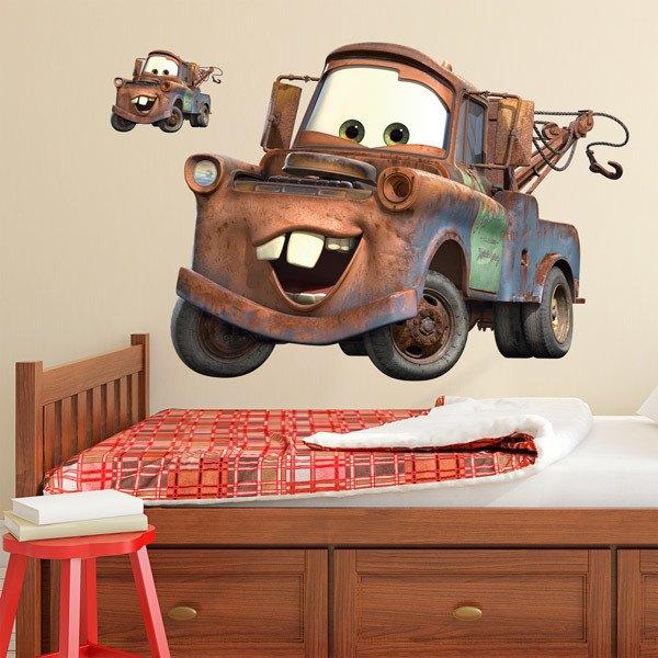 Vinilos Infantiles: Gran vinilo Disney de Mate - Cars