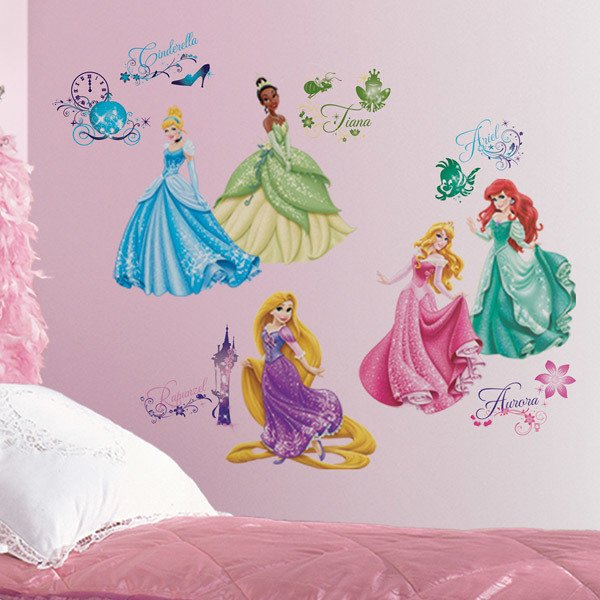Vinilos Infantiles: Vinilos Princesas Disney Royal Debut