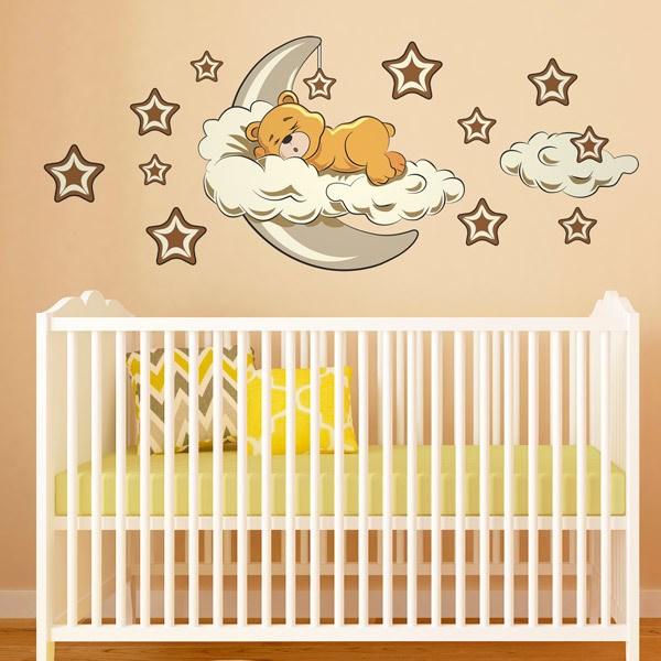 Vinilos para beb s de 0 a 4 a os for Vinilo habitacion bebe nina