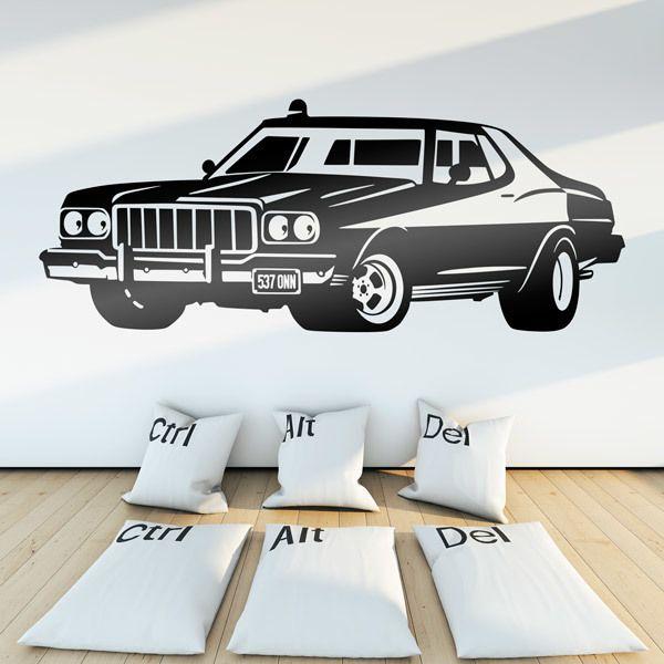 Vinilos Decorativos: Ford Torino Starsky y Hutch