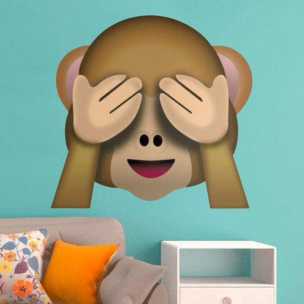Vinilos Decorativos: Mono que no quiere ver