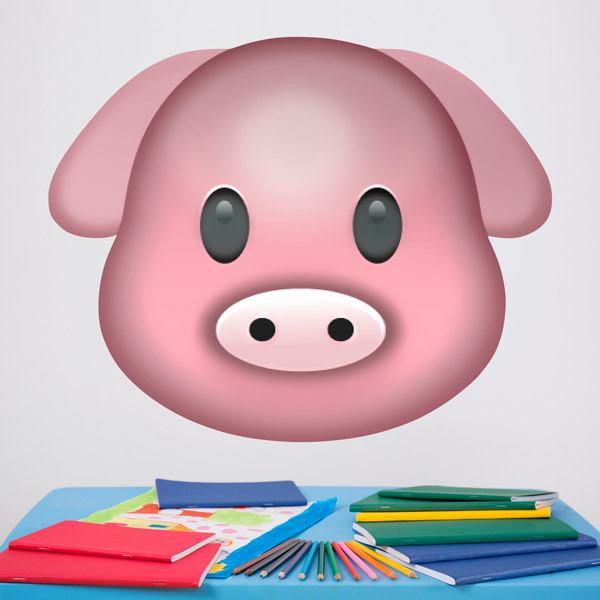 Vinilos Decorativos: Cara de cerdo