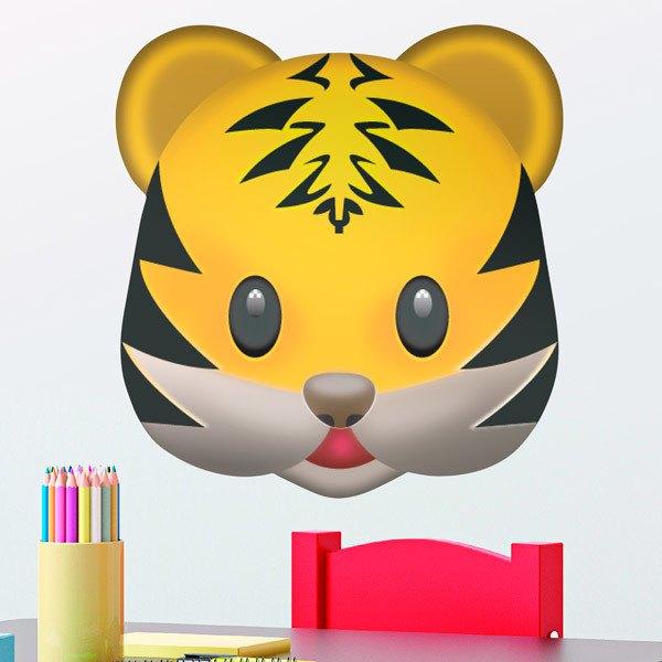 Vinilos Decorativos: Cara de tigre