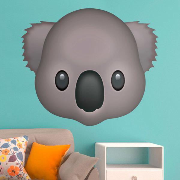 Vinilos Decorativos: Cara de Koala