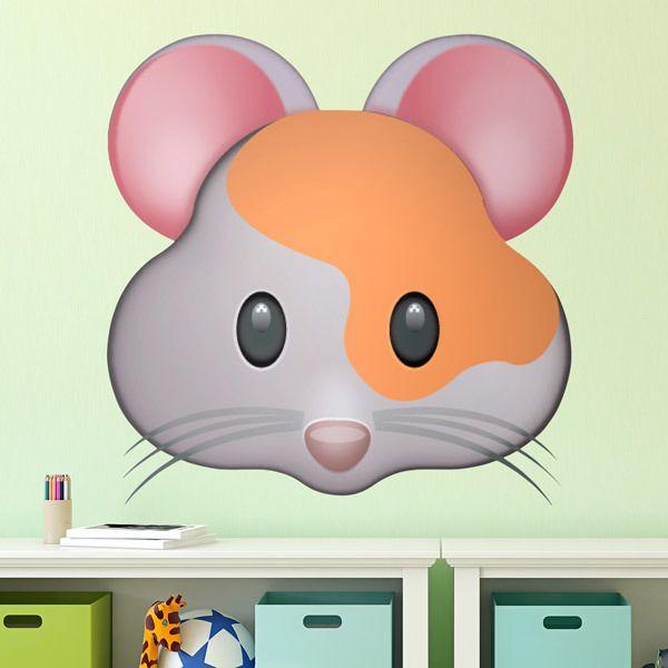 Vinilos Decorativos: Cara de Hamster