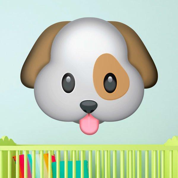 Vinilos Decorativos: Cara de perro