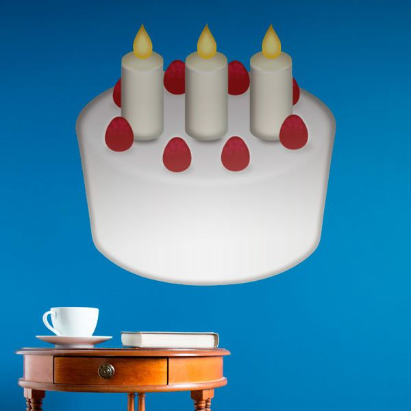 Vinilos Decorativos: Tarta de cumpleaños