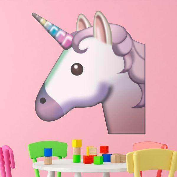 Vinilos Decorativos: Cara de unicornio