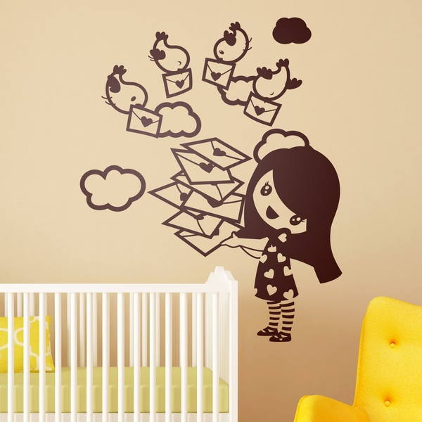 Vinilos Infantiles: Nena