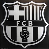 Vinilos Infantiles: Pegatinas FC Barcelona 68x48 cm