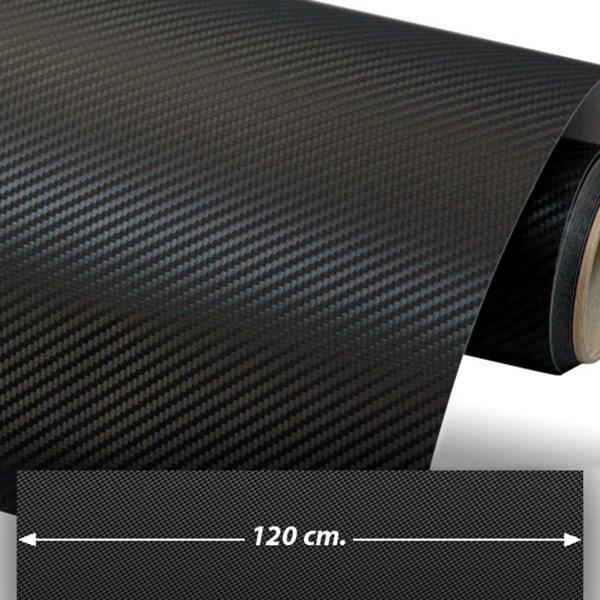 Pegatinas: Lámina de vinilo de fibra de carbono 120cm