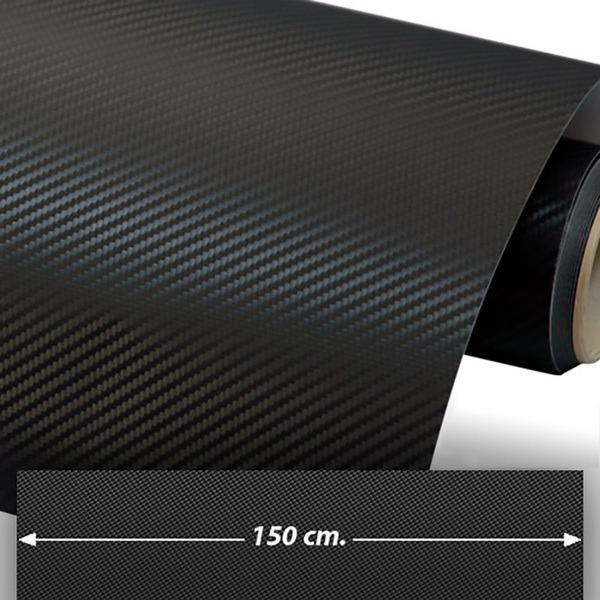 Pegatinas: Lámina de vinilo de fibra de carbono 150cm