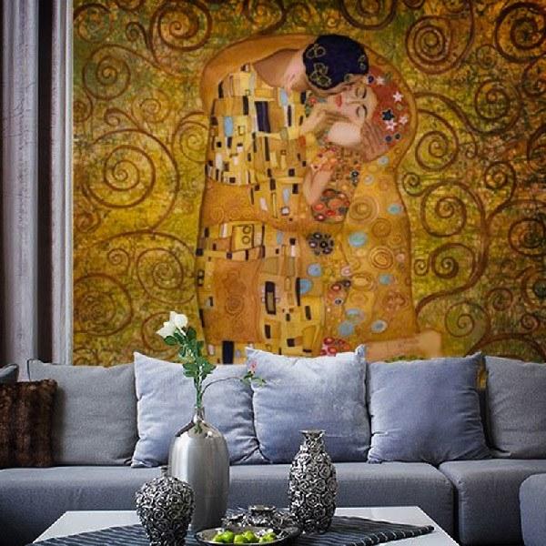 Fotomurales: Beso Klimt